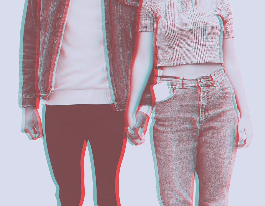 Gen Z couple in serious relationship because it looks better online