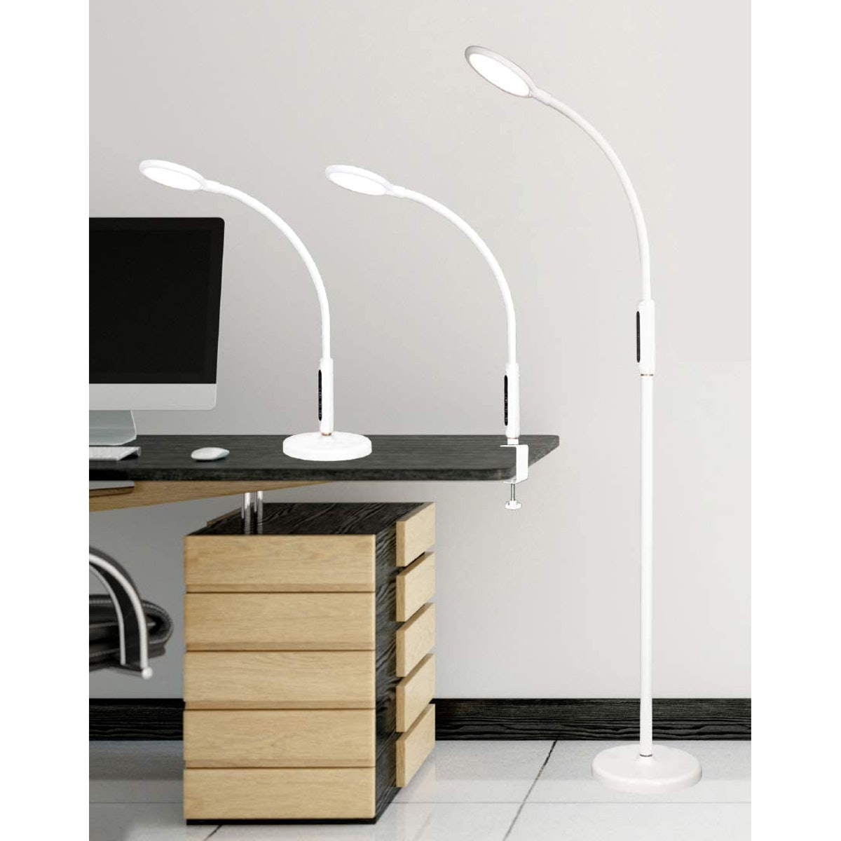 Syrinx 3-in-1 LED Lamp