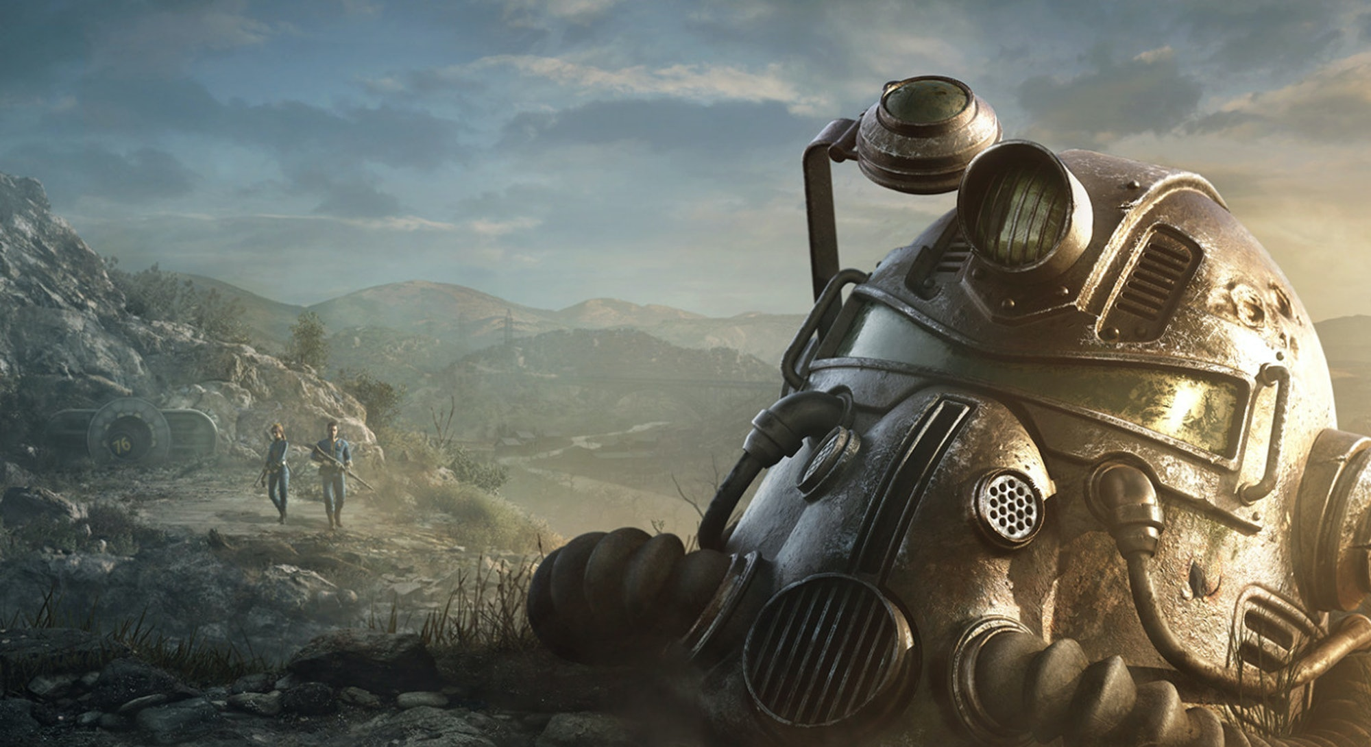 Promotional art for Fallout which is owned by Bethesda.