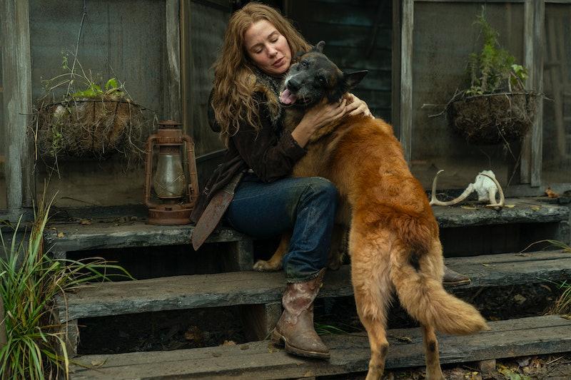 Lynn Collins playes Leah on 'The Walking Dead.' Photo via AMC