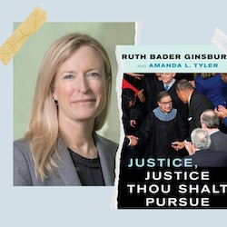 Ruth Bader Ginsburg and Amanda L. Tyler co-authored the justice's final book.