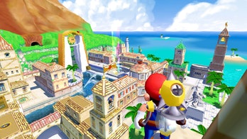 super mario sunshine 3d all stars delfino plaza