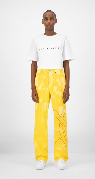 Yellow Karesh Pants