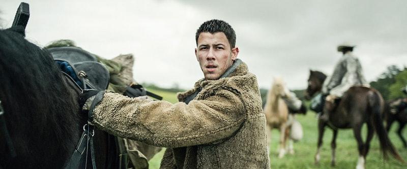 Nick Jonas in 'Chaos Walking,' via Lionsgate.
