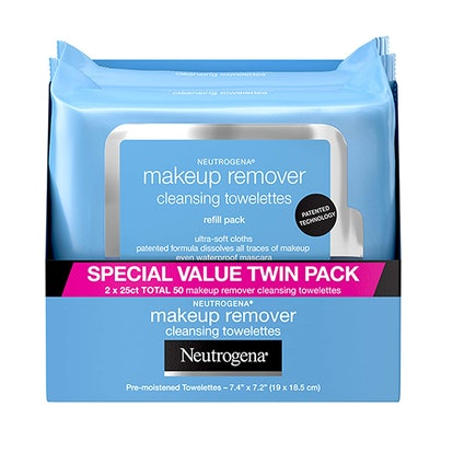 Neutrogena Makeup Removing Wipes (2-pack of 25 wipes)