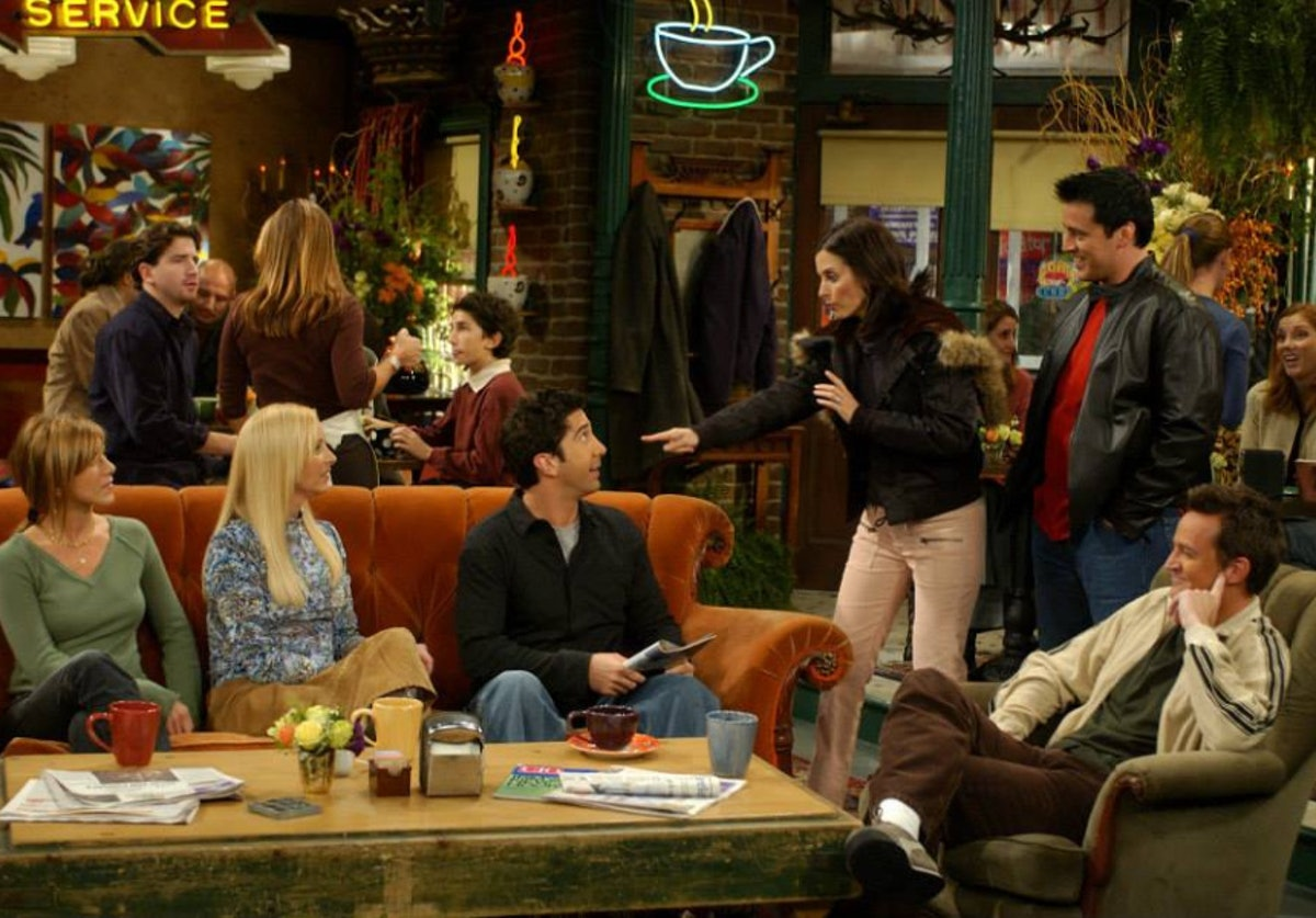 'Friends'-themed group chat names