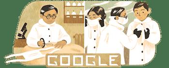 google doodle Wu Lien Teh