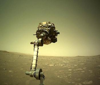 mars rover audio lasers