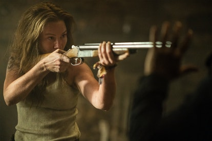 Could Leah's tattoo symbolize her past on 'The Walking Dead'? Photo via AMC