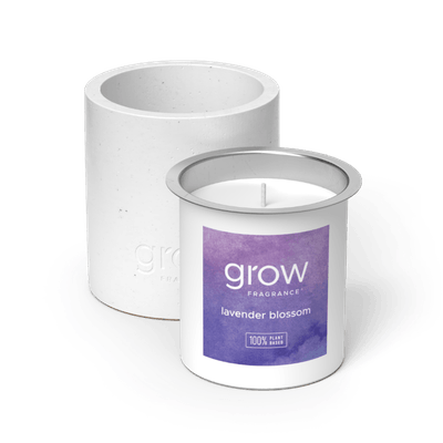 Lavender Blossom Candle
