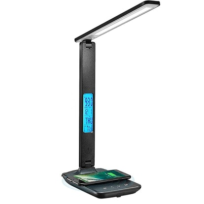 LAOPAO LED Desk Lamp with Wireless Charger