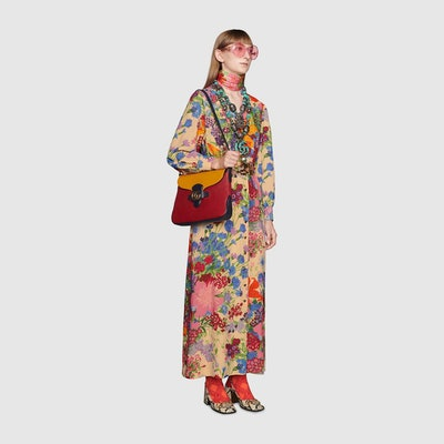 Ken Scott Print Viscose Dress