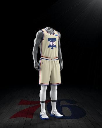 NBA x Nike NBA Playoffs Uniform Philadelphia 76ers