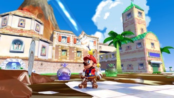 super mario sunshine fludd gameplay 3d all stars
