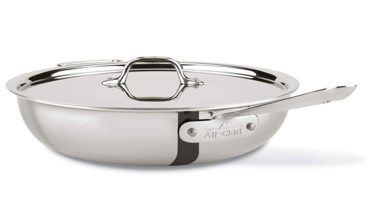All-Clad Stainless Steel All-in-One Pan