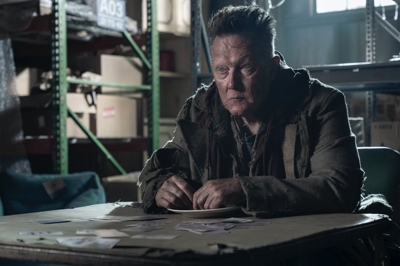 Robert Patrick appears as the mysterious Mays on 'The Walking Dead.' Photo via AMC