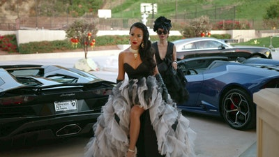 "Kelly Mi Li in episode 8 ""Will You Marry Me?"" of Bling Empire: Season 1."