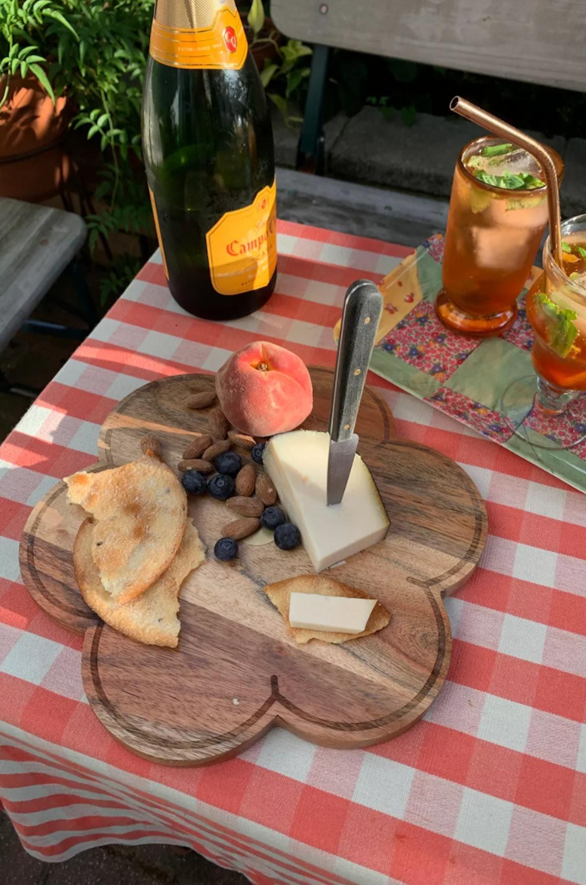 Daisy Cheese Board