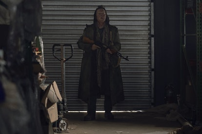 Robert Patrick's Mays could be related to the Reapers on 'The Walking Dead.' Photo via AMC.