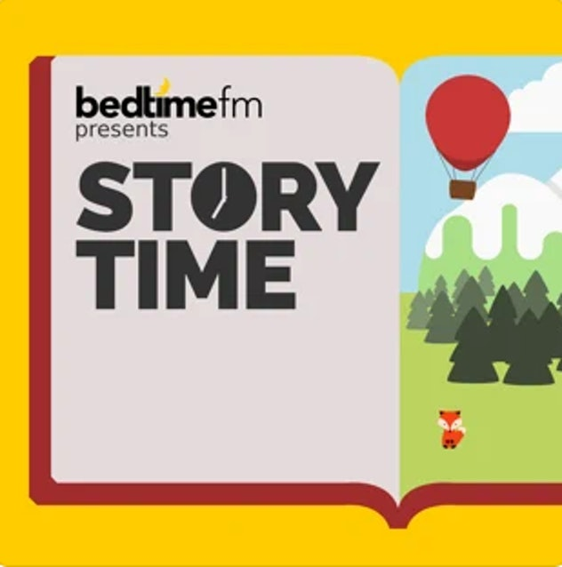 'Story Time' on Apple podcasts.