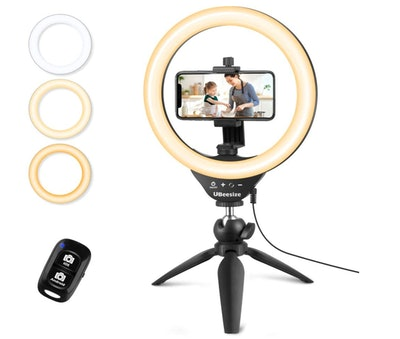 UBeesize Tripod and Selfie Ring Light