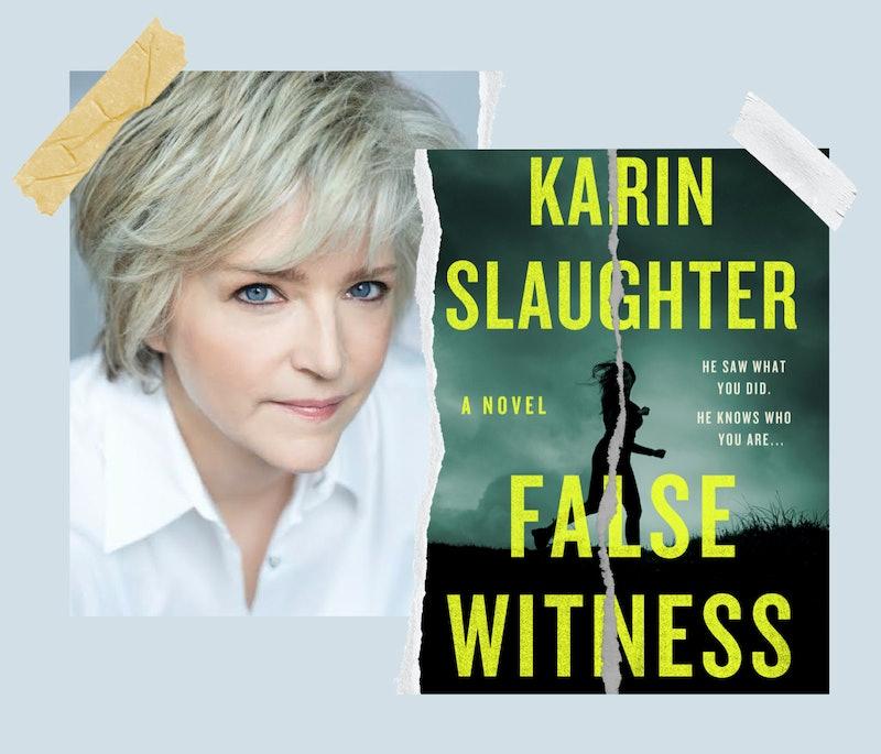 False Witness author Karin Slaughter.