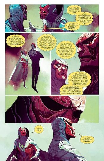 Avengers Vision Ship of Theseus