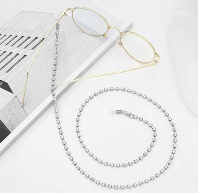 Babasee Rhinestone Eyeglass Chain