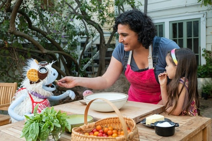 Samin Nosrat in in episode 1 of Waffles and Mochi.