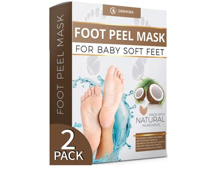 DEMORA Coconut Foot Peel Mask (2-Pack)