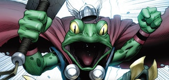 Throg in the Marvel Comics