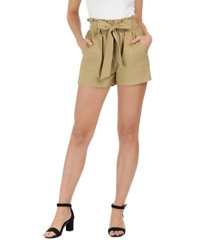 GRACE KARIN Tie Knot Shorts