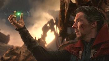 Doctor Strange Thanos Endgame Infinity War Time Stone theory