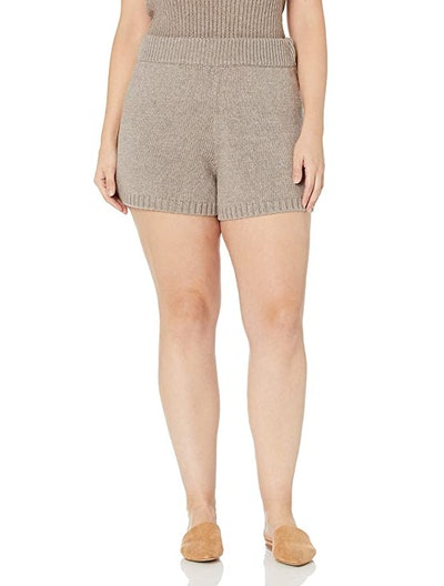 The Drop Women's Adrienne Pull-on Sweater Knit Short