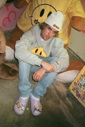 Justin Bieber Lavender Crocs