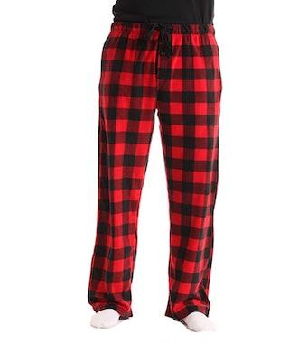 #followme Microfleece Plaid Pajama Pants
