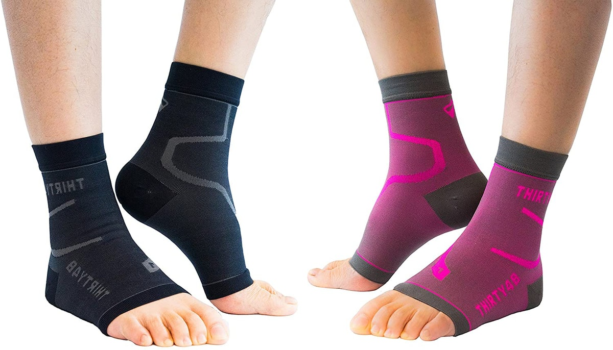 Thirty48 Plantar Fasciitis Compression Socks (2-Pack)
