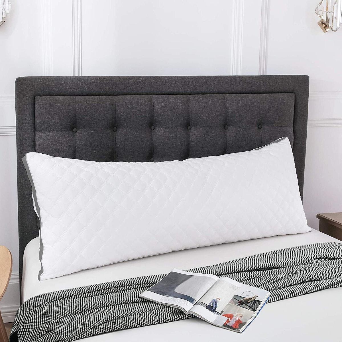 Leeden Body Pillow with Cotton Pillowcase