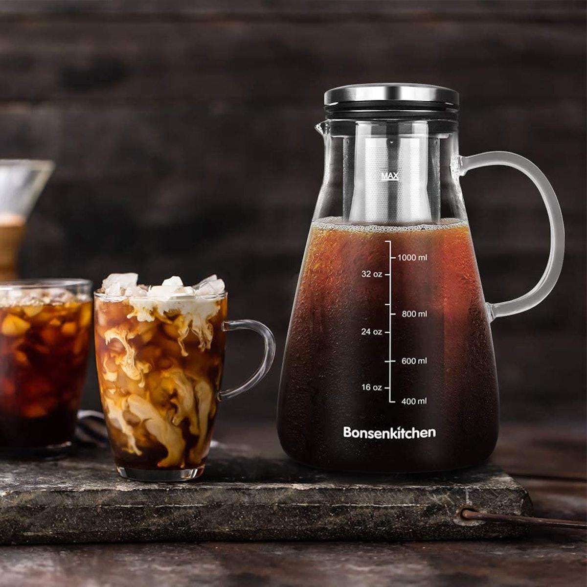 Bonsenkitchen Cold-Brew Coffee Maker