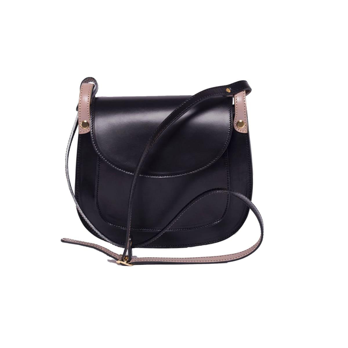 Anglet Black Cross Body Bag