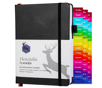 Hotcinfin 2021-2022 Productivity Planner
