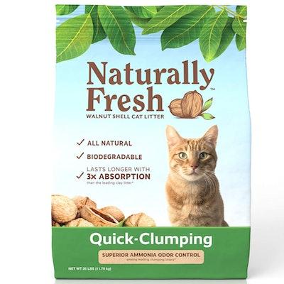 Naturally Fresh Walnut Shell Clumping Kitty Litter (26 Pounds)