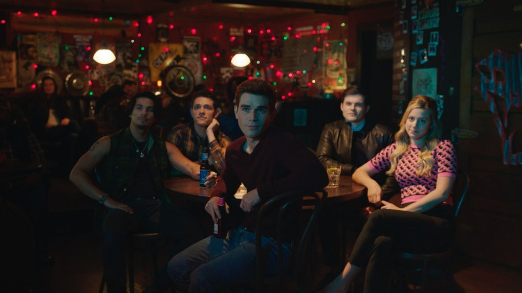 The cast of Riverdale.