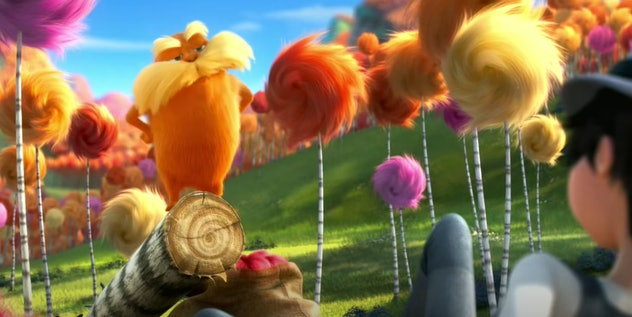 'Dr Seuss' The Lorax' is streaming on Netflix.