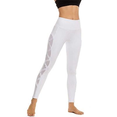 Romansong Mesh Yoga Leggings