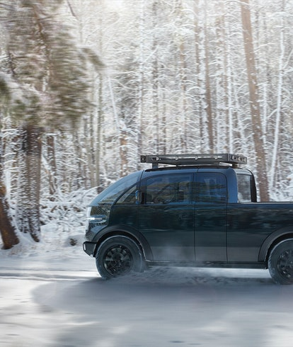 Canoo added an electric pickup truck to its lineup of electric vehicles.