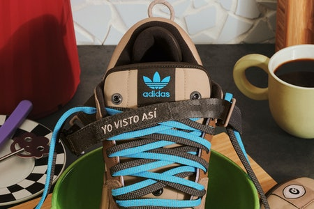 Bad Bunny Adidas Sneaker Forum Buckle Low The First Cafe