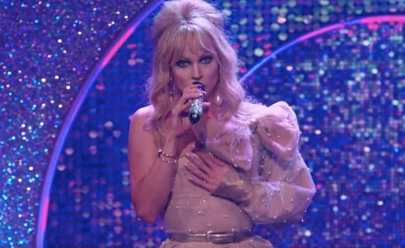 Courtney Act in 'Celebrity Karaoke Club'