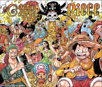 Shonen Jump marks the 1000th chapter of One Piece in January 2021.