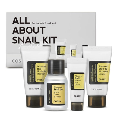 COSRX All About Snail Korean Skincare Set (4-Pieces)
